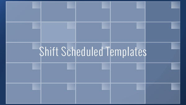 Shift Schedule Template 20 Free Word Excel Pdf Format Download Free Premium Templates