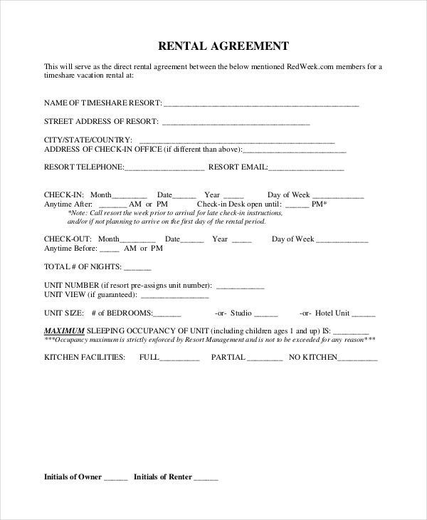 free downloadble rental agreement1