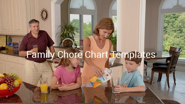 familychorecharttemplate