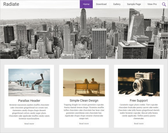 creative lifw style blogging free responsive theme