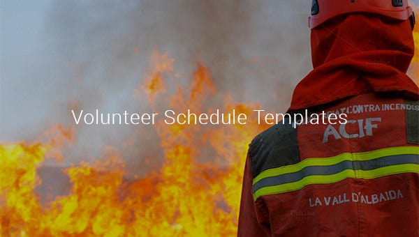 volunteerscheduletemplates
