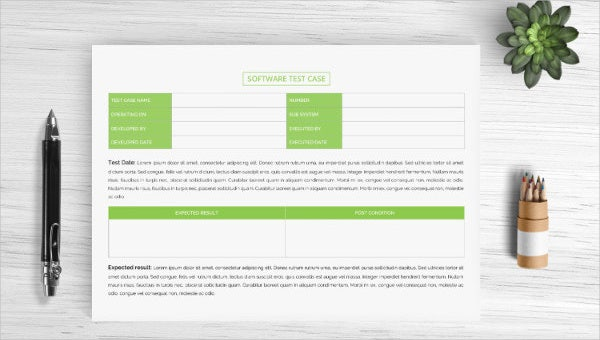 Test Case Template - 22+ Free Word, Excel, PDF Documents Download