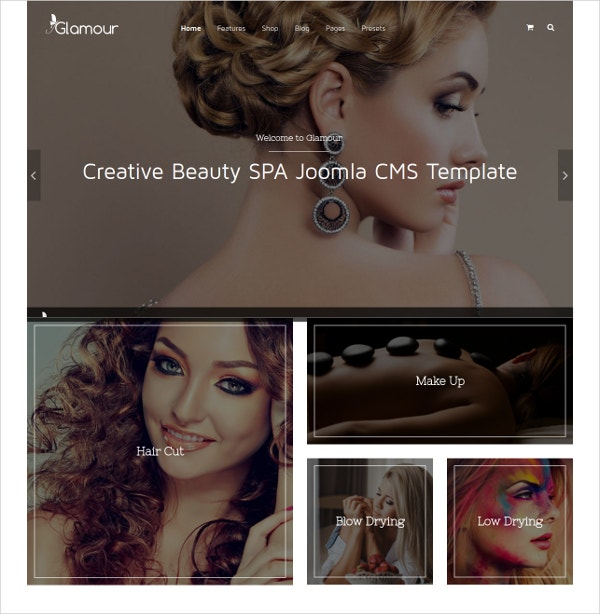 Creative Beauty Spa Joomla Template