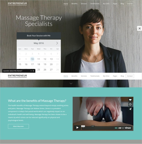 Physician Specialist WordPress Theme