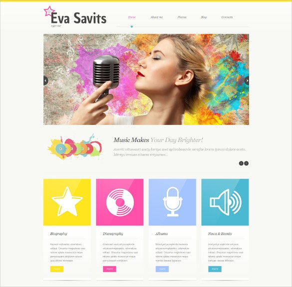 Responsive Personal Yellow Page WordPress Theme