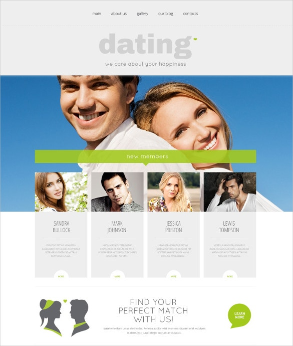 Dating theme wordpress free