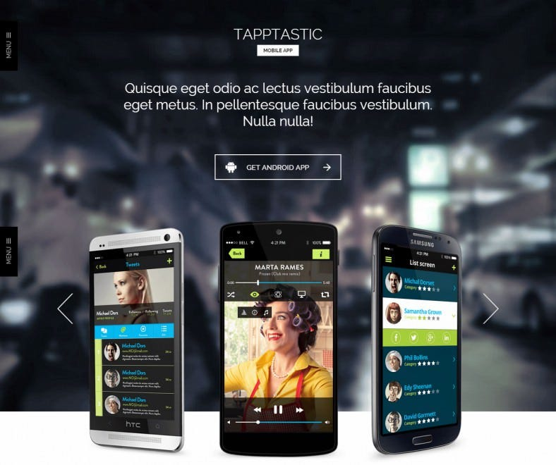Responsive WordPress Theme for App Developer