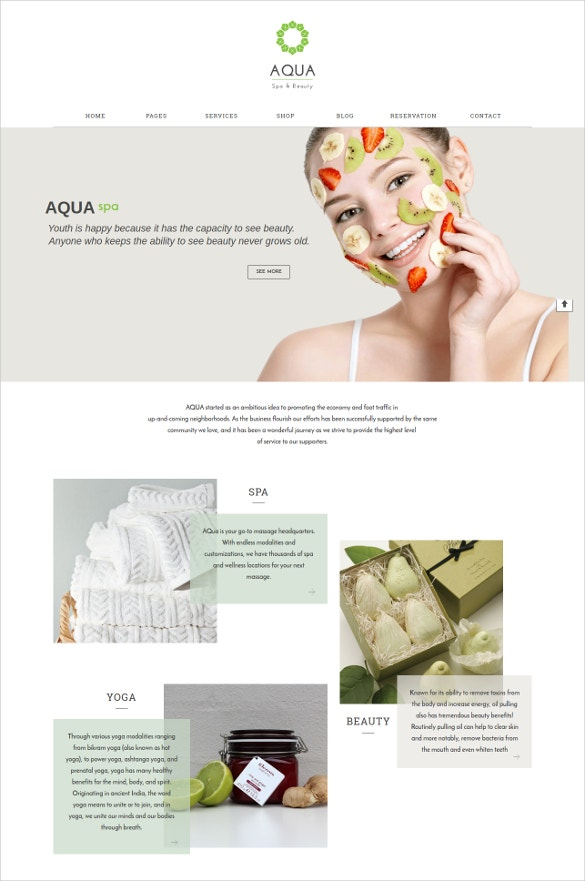 responsive spa commerce drupal theme