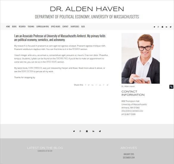 academic teacher wordpress theme