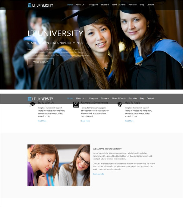 Professional Teacher WordPress Theme