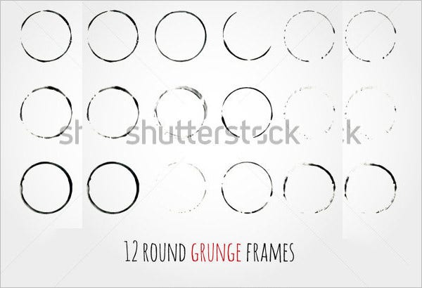 12 rounds grungle frames