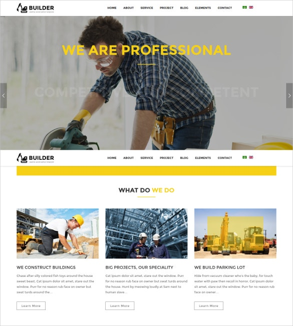 Construction Plumber Joomla Template