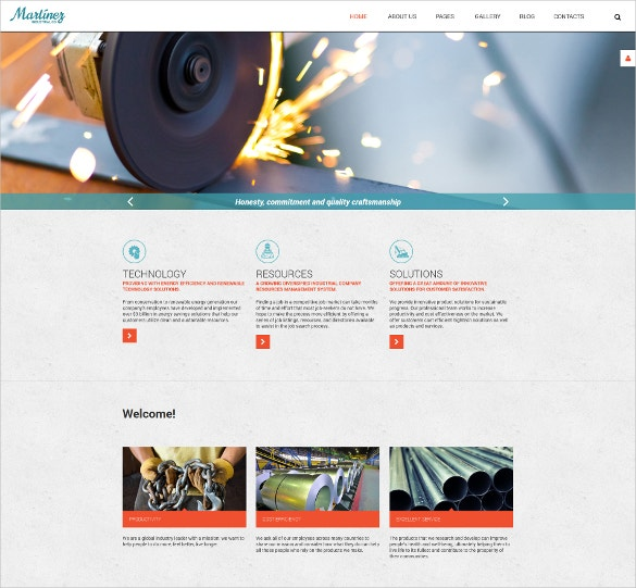 Welding Engineer Joomla Template