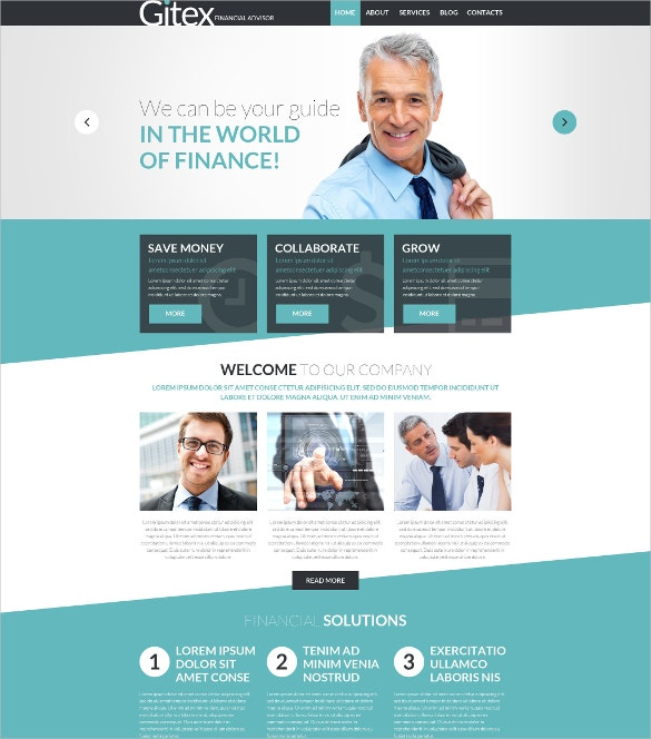 Financial Engineer Joomla Template