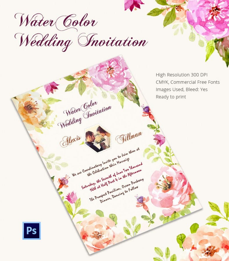 Wedding Invitation Card Sample Pdf Matik For