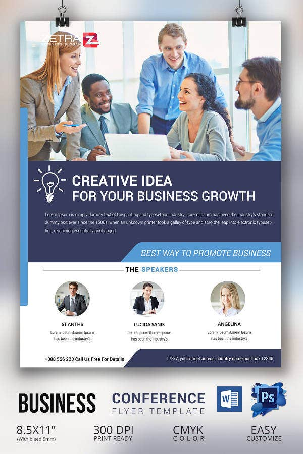 Business-Conference-Flyer-Template
