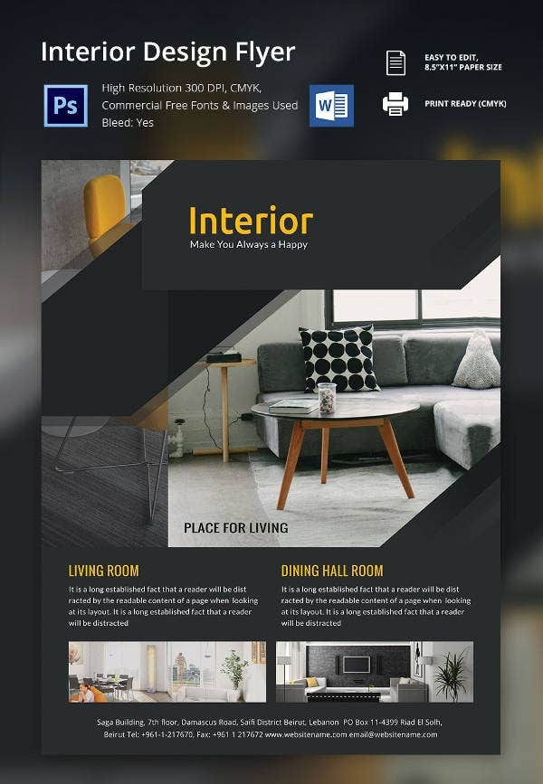 Interior-Flyer-Design