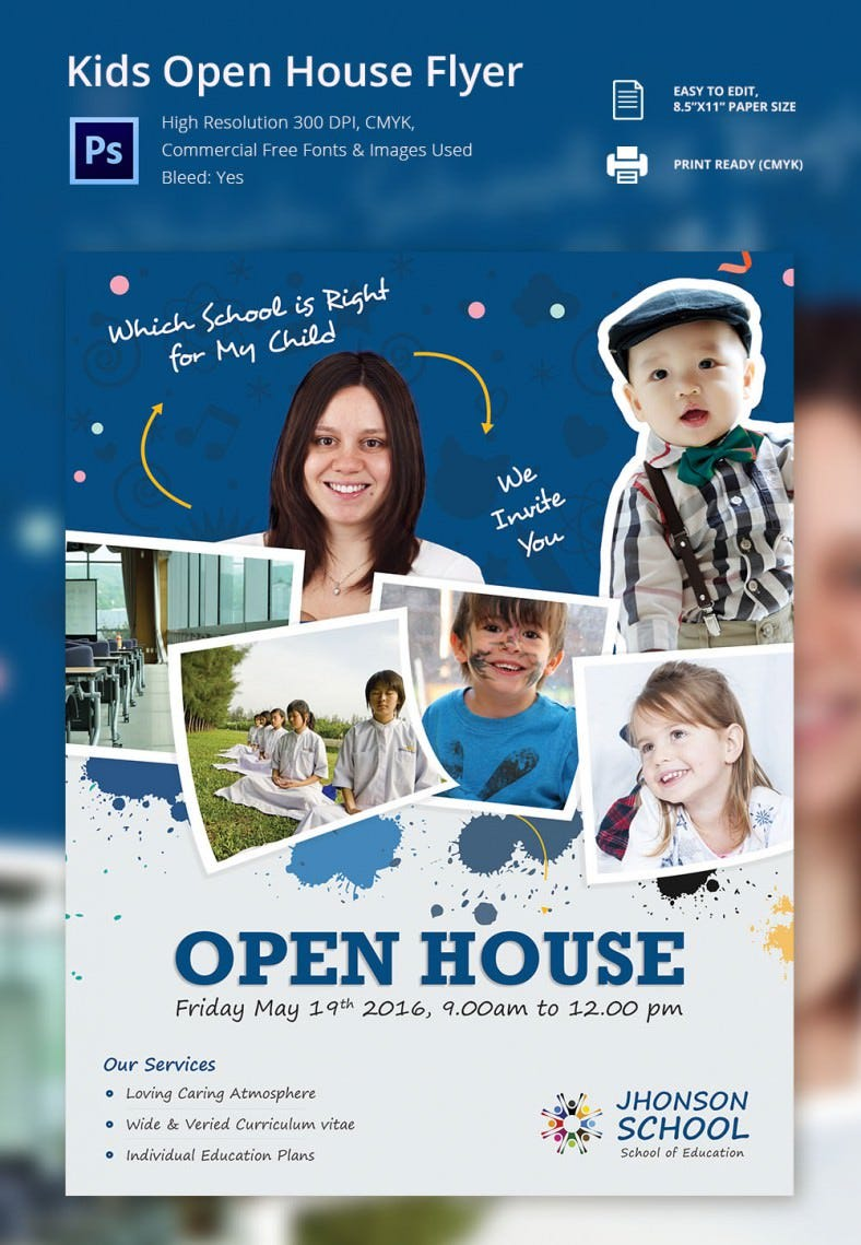 Kids open house Flyer_8 X 11 in