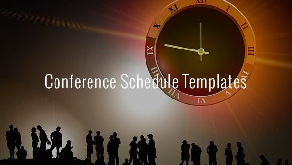 conferencescheduletemplates