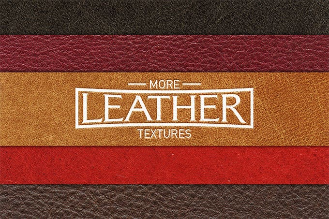 123189 more leather texture 5 pack