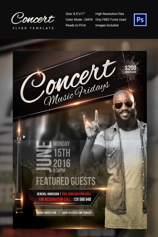 Club Concert Flyer Template