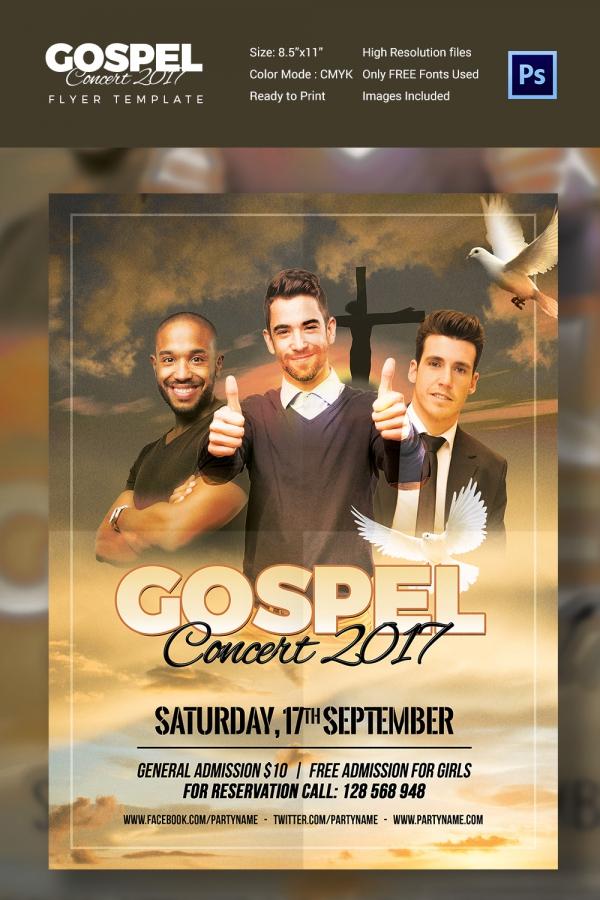 Concert Flyer Template - 35+ PSD Format Download | Free & Premium ...