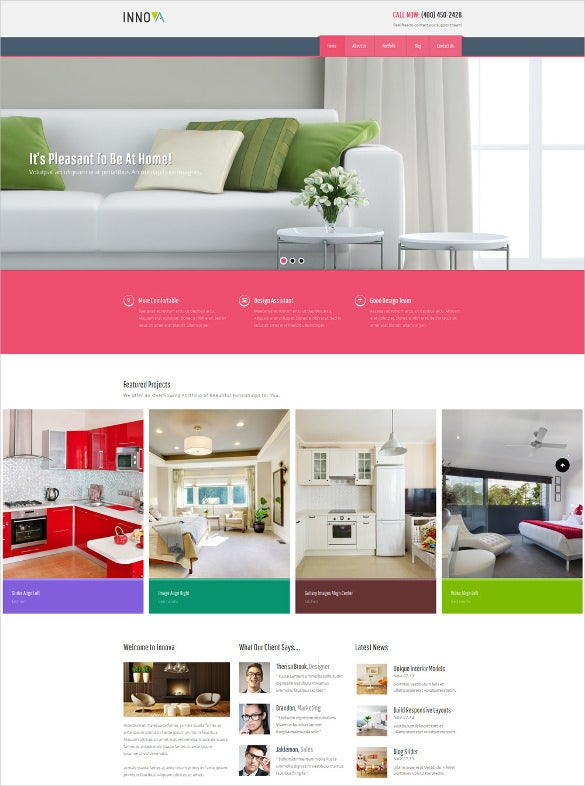 funiture wordpress cms theme