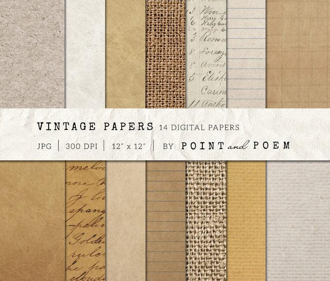 152746 old vintage paper textures