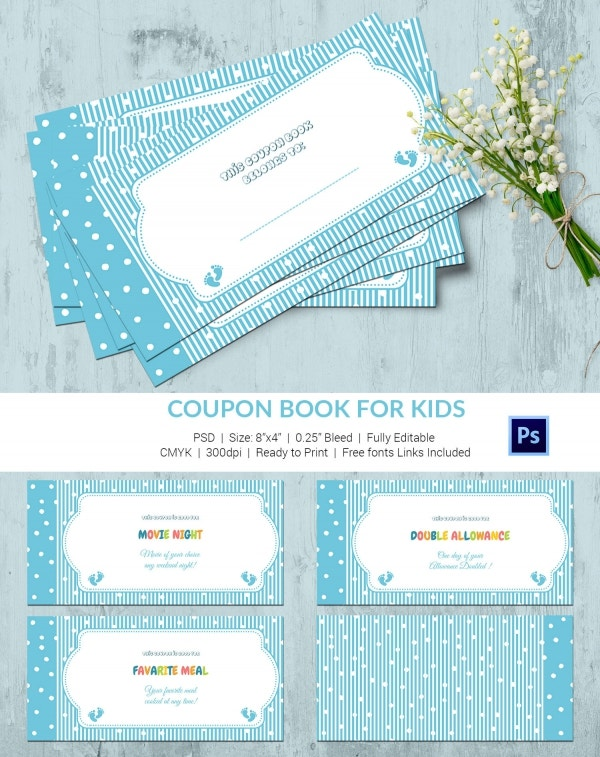 45 Coupon Book Templates Free PSD AI Vector EPS Format – Free Coupon Book Template