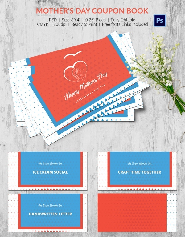 Mother's Day Coupon Template