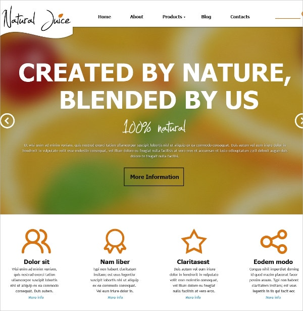 8+ Diet & Nutrition Joomla Themes & Templates | Free & Premium ...