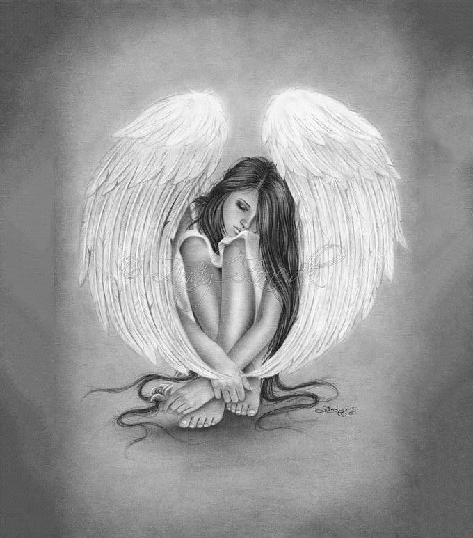 28 Angel Drawings Free Drawings Download Free Premium Templates