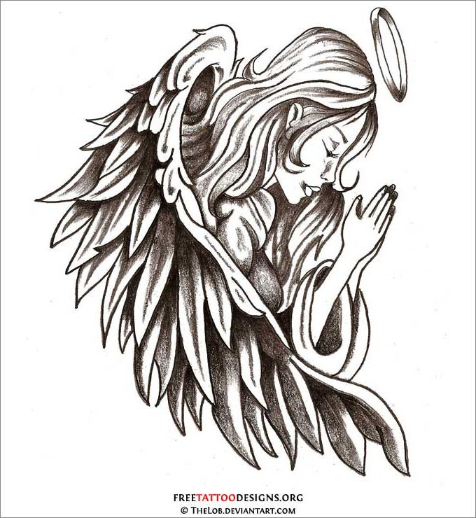 28+ Angel Drawings - Free Drawings Download