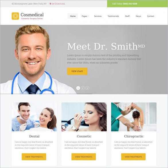cosmedical health medical wordpress theme1