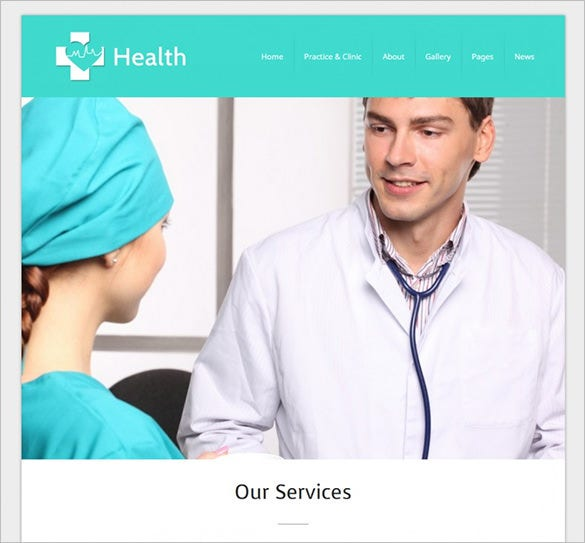 health wordpress doctor theme1