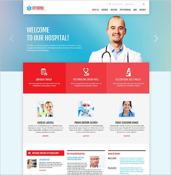 responsive medical wordpress template1