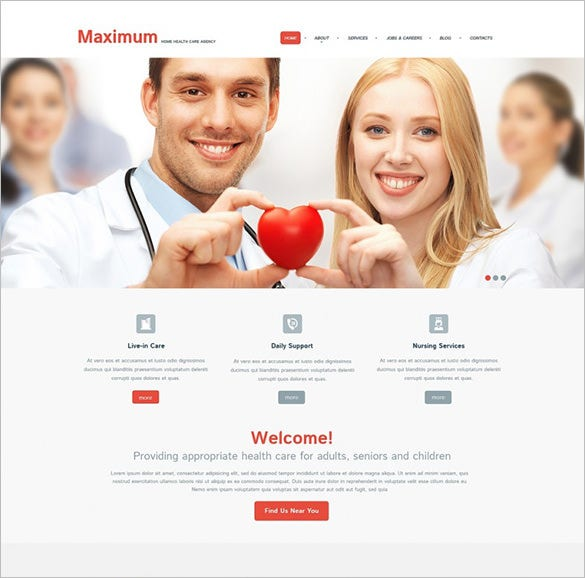 premium medical responsive wordpress template1