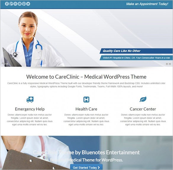wordpress medical theme1