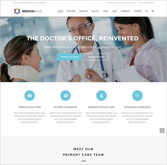 health and medical wordpress theme1
