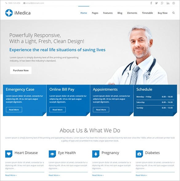 responsive medical health wp theme1