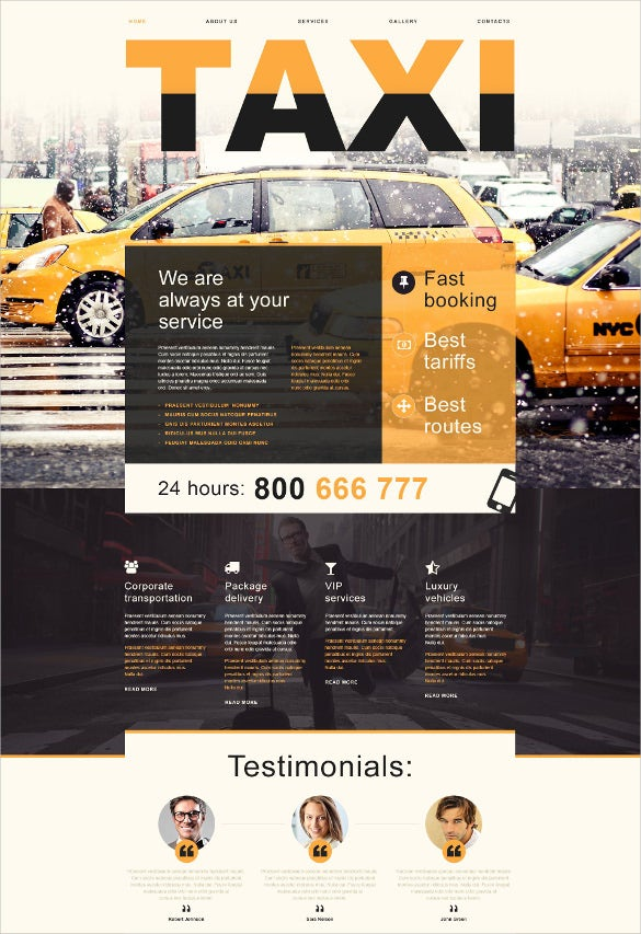 static taxi muse template