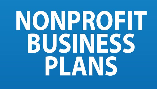 non profit business plan templates