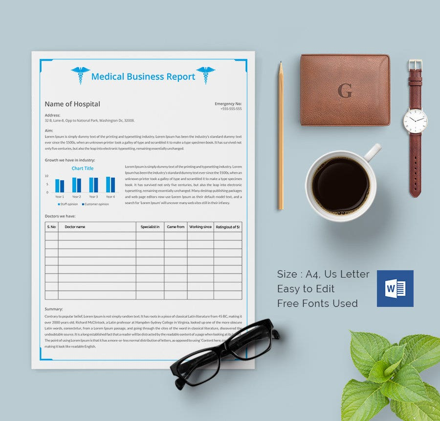 17+ Business Report Templates - Free Sample, Example, Format