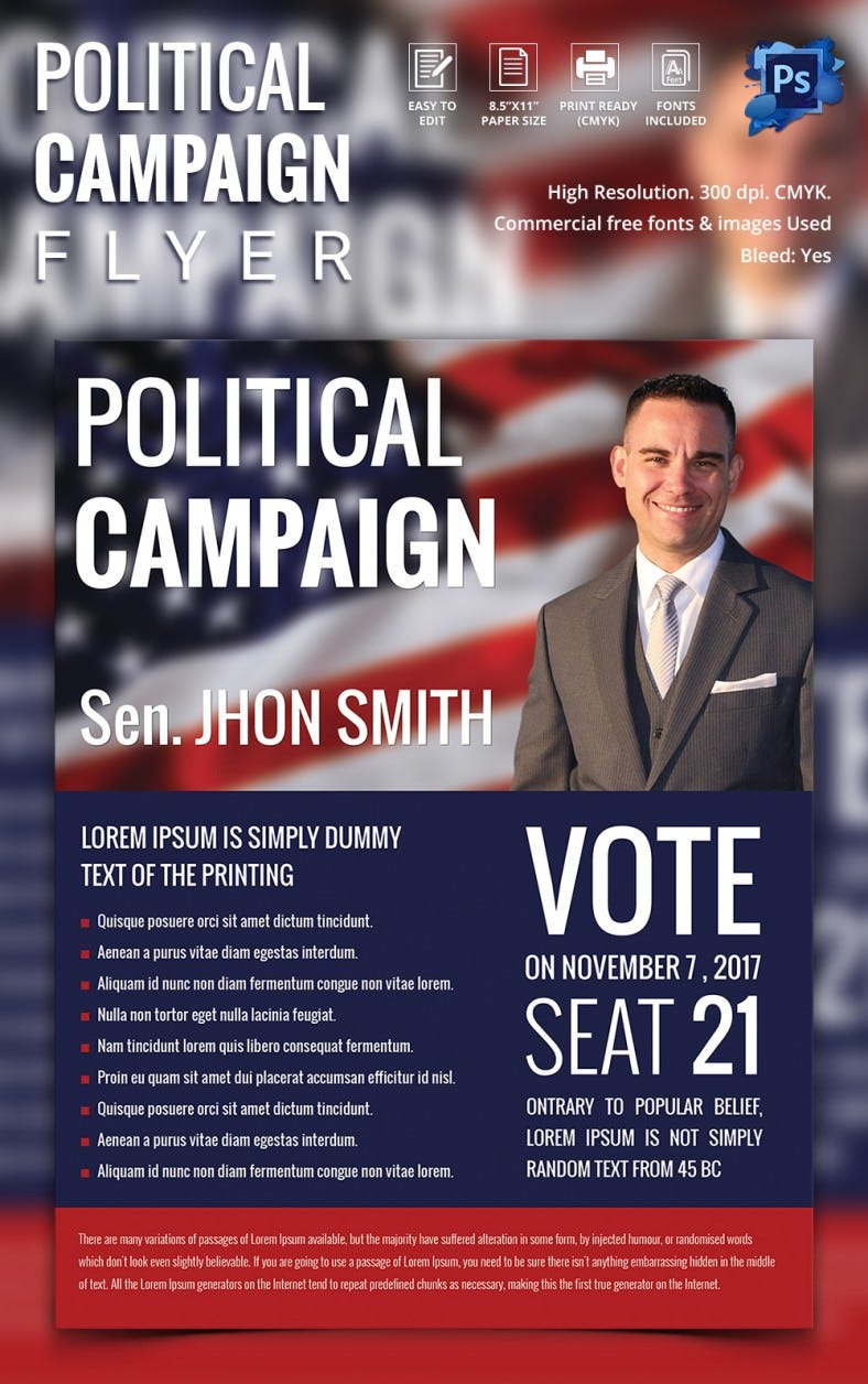 campaign flyers 31 psd ai vector eps format election campaign flyer design politicalcampaign flyer