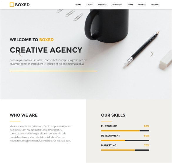 One Page Creative Web Apllication Template.j