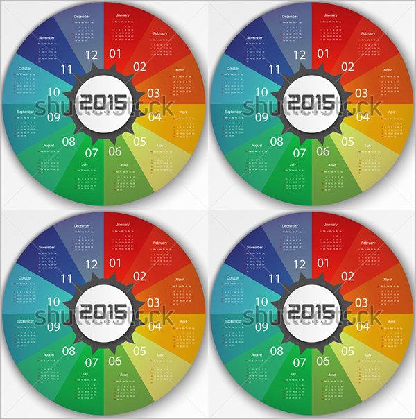 2015 calendar design template