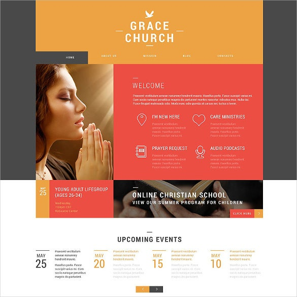 religious spiritual organization wordpress theme