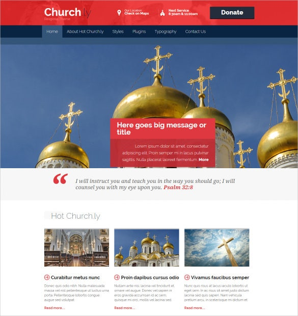 spiritual hot church wordpress template