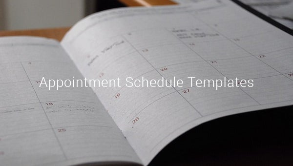 appointmentscheduletemplates
