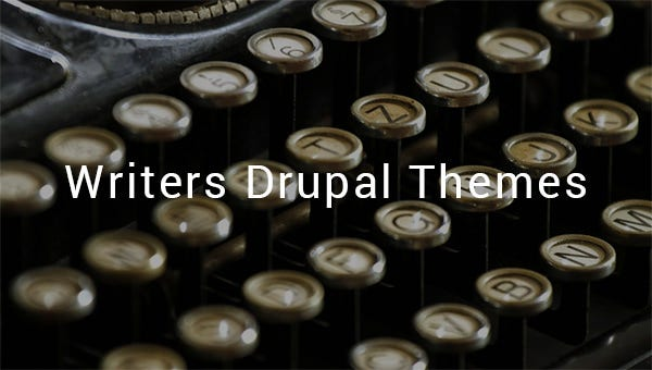 writers drupal themes